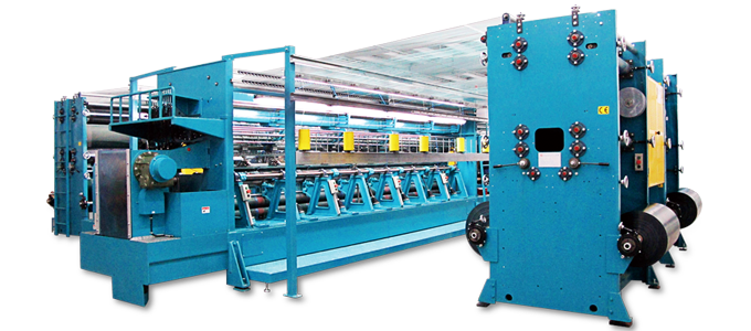 Double Needle Bar Raschel Machines